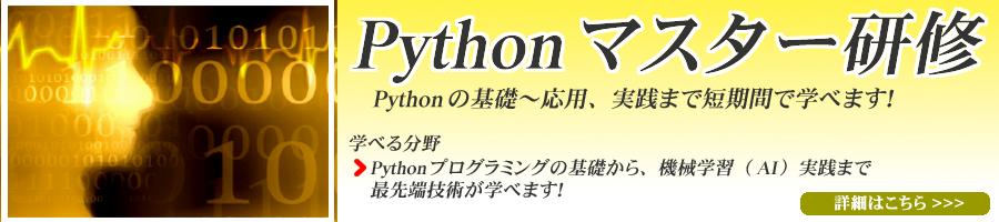 pythonマスター研修